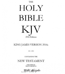 King James Version 2016 Edition