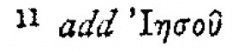 Footnote in Acts 16:7 in Scrivener's 1881 Greek New Testament